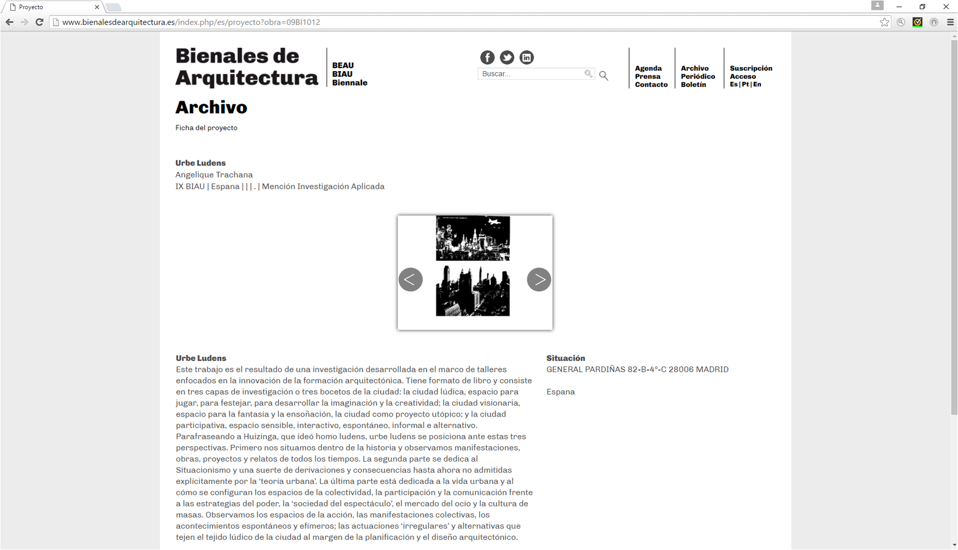 2014_Angelique _Mención en la sección_investigación